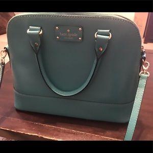Kate Spade purse - turquoise